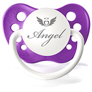 Sucette Angel Purple
