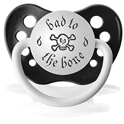 Sucette Bad to the bone