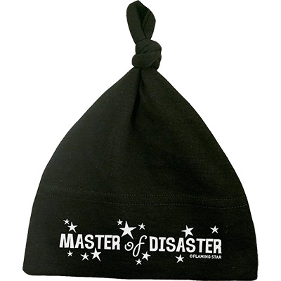 Bonnet nouveau-né Master of Disaster